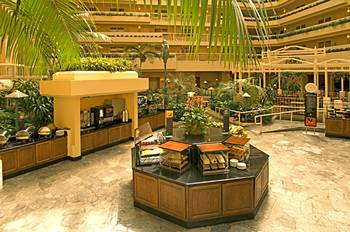 Embassy Suites LAX Lobby