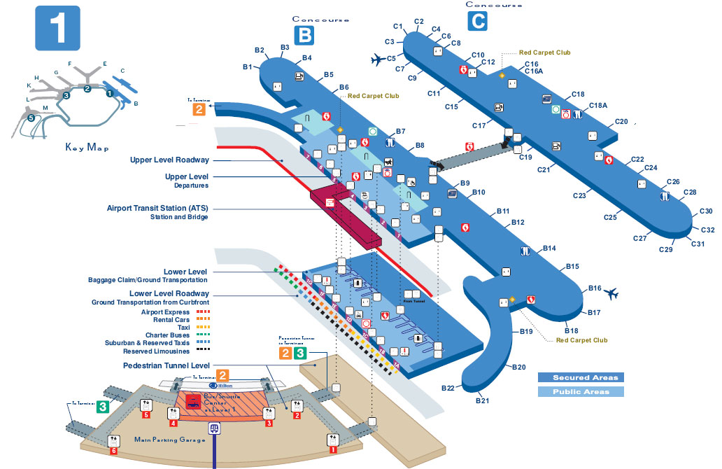 o hare airport gate map O Hare Terminal Map Chicago O Hare International Airport Ord o hare airport gate map